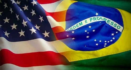 Resultado de imagem para bandeira americana brasil