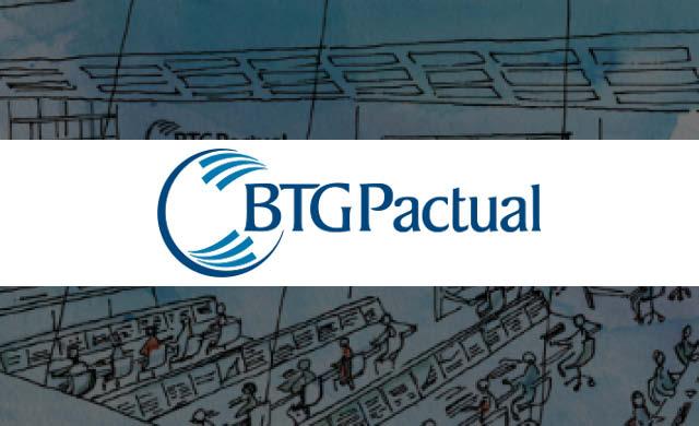Resultado de imagem para logotipo do BTG Pactual