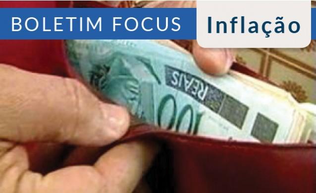 Mercado estima menos inflação e alta menor do PIB neste ano
