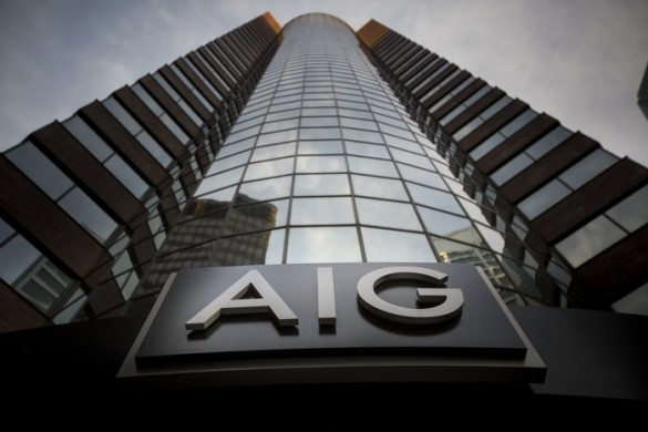 The American International Group Inc. (AIG) headquarters office stands in New York, U.S., on Thursday, Oct. 29, 2015. AIG is scheduled to announce third-quarter earnings figures on November 2. Photographer: Michael Nagle/Bloomberg via Getty Images