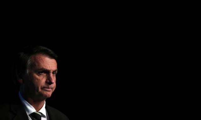 Pré-candidato do PSL à Presidência, Jair Bolsonaro, durante evento em São Paulo 18/06/2018 REUTERS/Paulo Whitaker