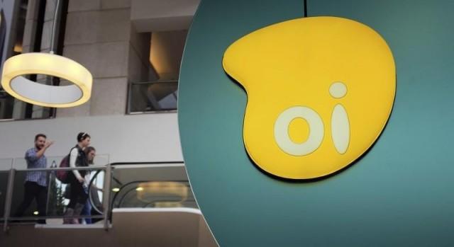Logotipo da Oi dentro de loja em shopping em São Paulo. REUTERS/Nacho Doce (BRAZIL - Tags: BUSINESS TELECOMS POLITICS LOGO)