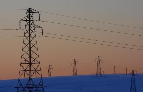 File photo of electricity pylons at the Scottish Power-owned Dun Law West wind farm near Edinburgh, Scotland January 8, 2010. REUTERS/David Moir
