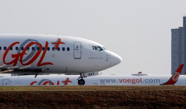 Aeronave da Gol se prepara para decolar no aeroporto de Congonhas, São Paulo, Brasil 09/08/2017 REUTERS/Paulo Whitaker